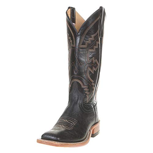 Anderson Bean Womens Ladies Smooth Ostrich Cowgirl Boots 7 C Black