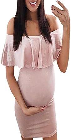 Ropa De Embarazadas Modernas YiYLunneo Falda de Lactancia ...