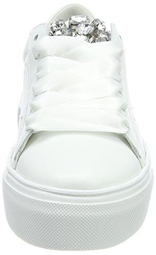 Schmenger Femme Sohle Crystal Weiß Baskets Weiß Big und Bianco Kennel w54qIOc