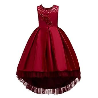 Amazon.com: IBTOM CASTLE Little Girls Floral Prom Dress