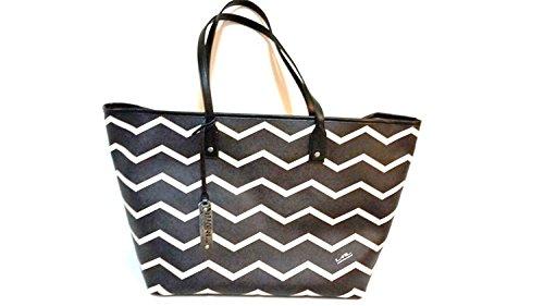 Lauren Ralph Lauren Handbag Kirby Classic Tote-tt Black Vanill