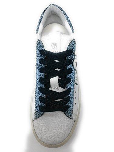 Pelle WRG GR nbsp;Bianco WL Wrangler Sneaker Navy 181532 da nbsp;UK in 6 Clever Donna 39 wxPPvBn