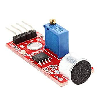 Adraxx Sound Sensor Module Micro For Arduino, ARM And Other MCU