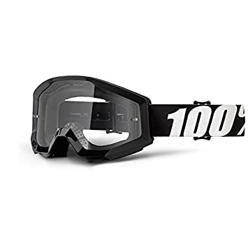 100% Unisex-Adult Speedlab (50400-233-02) STRATA Goggle Outlaw-Clear Lens, One Size