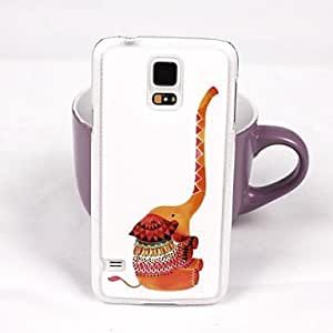 SHERRYLEE Cute Elephant Pattern PC Back Case for Samsung Galaxy Note 4