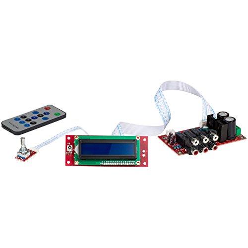Jingyuan Yuan-Jing Cirrus Logic CS3310 Remote Control Preamplifier Kit LCD Display by Jingyuan