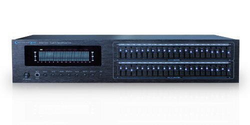 Technical Pro EQ7153 Dual 21 Band Professional Equalizer by Technical Pro
