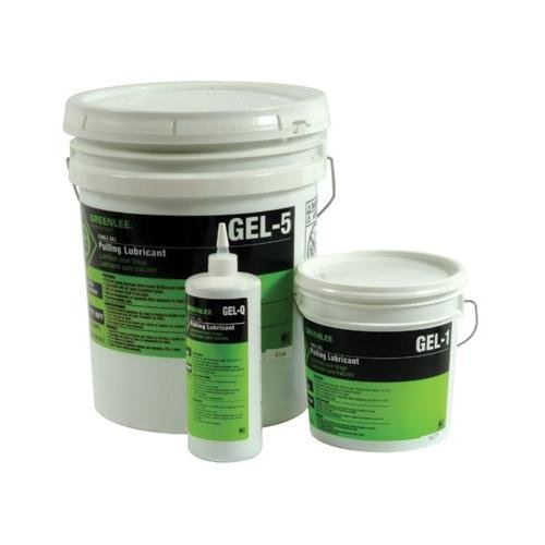 Cable-GelTM Cable Pulling Lubricants - 35213 gel soap 5 gal(19l (Greenlee Gel)