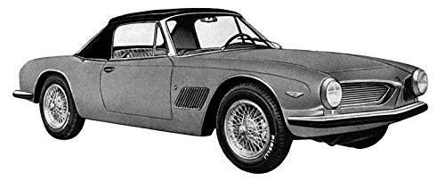1964 Moretti Fiat 2300 SS Spider Factory Photo (Spider 2300)