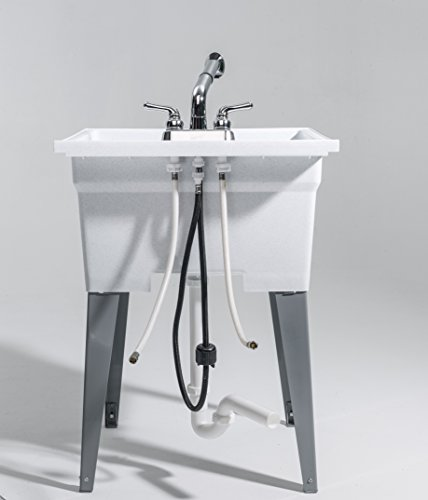 CASHEL 1960-32-02 Heavy Duty Sink - Fully Loaded Sink Kit, Granite by Cashel (Image #9)