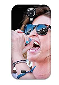 Amanda W. Malone's Shop Best 5397396K62515346 TashaEliseSawyer Scratch-free Phone Case For Galaxy S4- Retail Packaging - Emily Armstrong Of Dead Sara