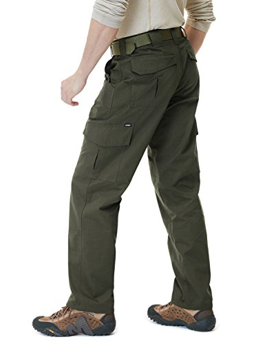 CQR Men's Tactical Operator Work Pants Lightweight EDC Assault Cargo TLP105/TWP302