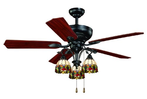 AireRyder F0006 French Country 52-Inch Ceiling Fan, Oil Shale, Appliances for Home