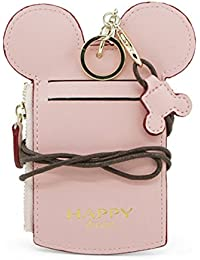 Neck Pouch, Charminer Card Holder Wallet Purse Neck Bag Travel Documents, Cute Animal Shape for Women