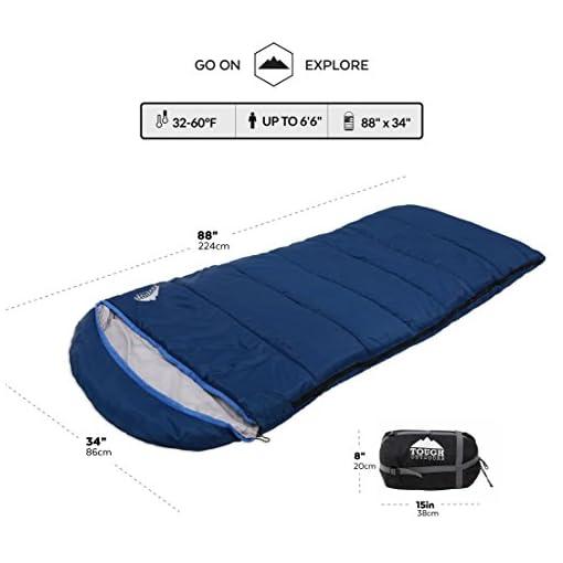 All Season XL Hooded Sleeping Bag