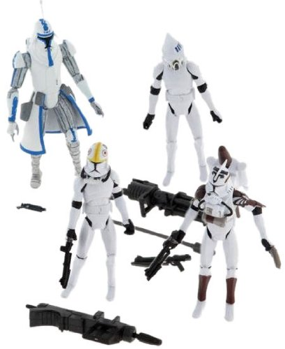 Star Wars Clone Wars Exclusive Set Commando Squad -