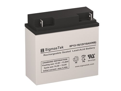 mpH SLA Replacement Battery with NB Terminal ()