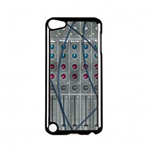 Mixing Desk Black Hard Plastic Case Snap-On Protective Back Cover for Apple? iPod Touch 5th Gen by Nick Greenaway + FREE Crystal Clear Screen Protector by mcsharks