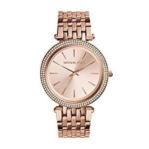 05de037b6333 Imagen no disponible. Imagen no disponible del. Color  Michael Kors MK3192  Ladies All Rose ...