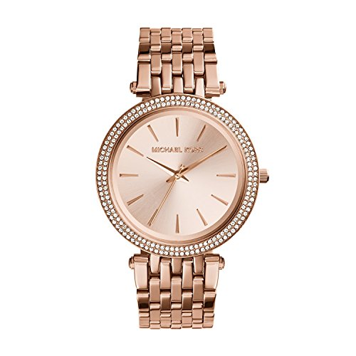 Michael Kors Women's Darci Rose Gold-Tone Watch ()
