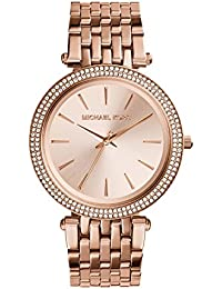 Michael Kors Women\u0026#39;s Darci Rose Gold-Tone Watch MK3192