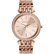 Michael Kors Women's Darci Rose Gold-Tone Watch MK3192