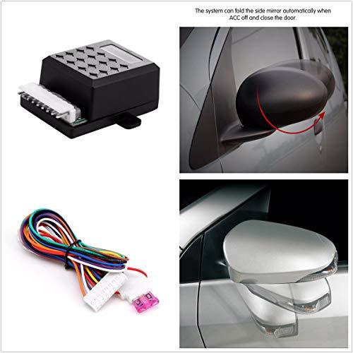 - FidgetFidget Universal Car Side Rearview Mirror Automatic Folding Folded Close System Modules