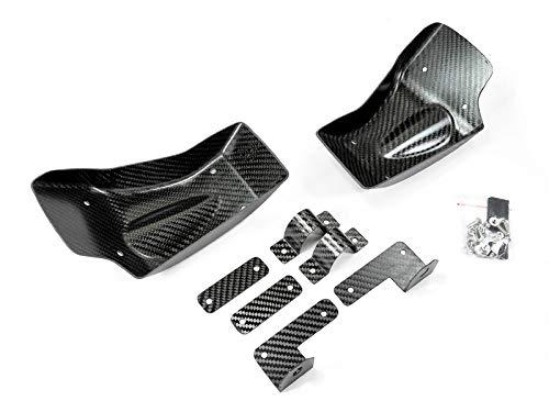 - AutoTecknic Dry Carbon Fiber Brake Cooling Duct - Nissan R35 GT-R