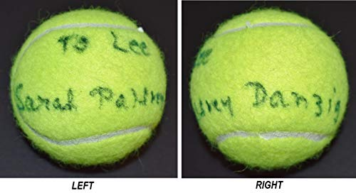 Sarah Palfrey Cooke - Sarah Palfrey Danzig Signed - Autographed Wilson Tennis Ball - Deceased 1996 - Guaranteed to pass BAS - Beckett Authentication