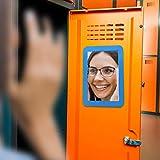 Magnetic Locker Mirror, School