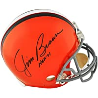 $299 » Jim Brown Cleveland Browns Signed Autograph Full Size Helmet HALL OF FAME INSCRIBED Tristar Certified