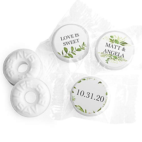 (Personalized Mints Wedding Favors LifeSavers Mints (300 Count))