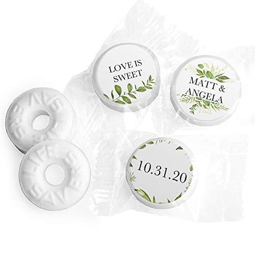 Wedding Mints Personalized LifeSavers Mints Wedding Favors (300 Count) Bridal Shower Favors for Guests]()