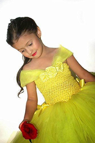 8058ad5273b Image Unavailable. Image not available for. Color  Yellow Tutu Dress ...