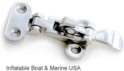1x Boat Marine 316 Stainless Anti-Rattle Hatch Fastener Locker Clamp Heavy Duty