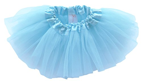 [Dancina Tutu Cute Baby Girls' Boys' 1 Month Birthday Soft Elastic Costume Dress 0-5 months Sky] (Baby Megamind Costume)