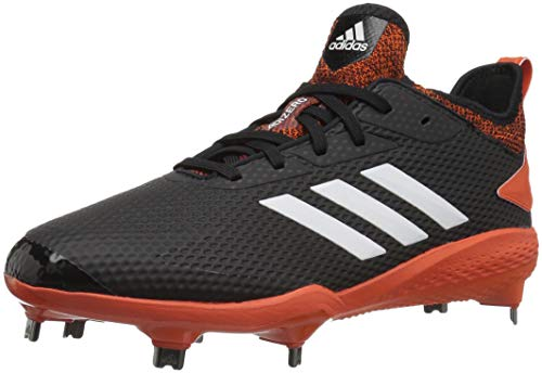 79c52884acfb adidas Men's Adizero Afterburner V Baseball Shoe, Black/Cloud White/Collegiate  Orange, 9 M US