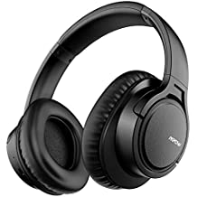 Mpow H7 Bluetooth Headphones Over Ear, 18 Hours Playtime & Comfortable Earpads, Wired and Wireless Headphones for Cellphone/Tablet