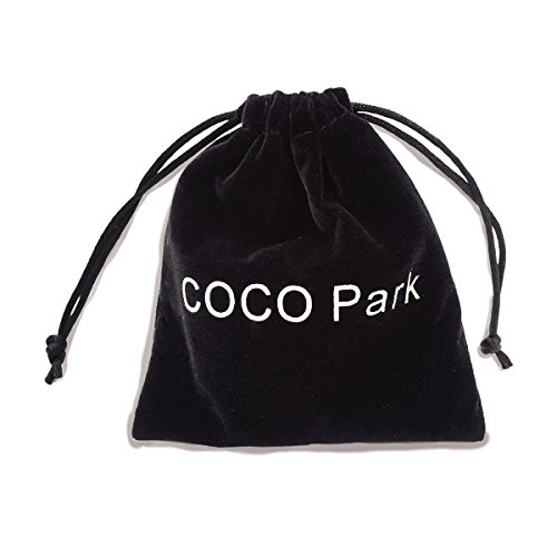 COCO Park Stainless Steel Angel Wing Ash Pendant Cremation Jewelry Urn Necklace Keepsake
