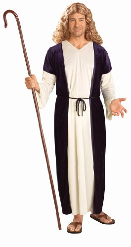 [Forum Novelties Men's Biblical Times Shepherd Costume, Multi, Standard] (Nativity Costumes Adults)
