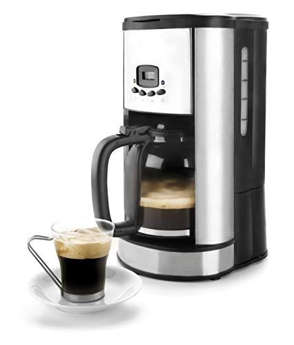 Lacor – 69279 – Cafetera De Goteo Programable 900w 1,80Litros 20tazas – Negro