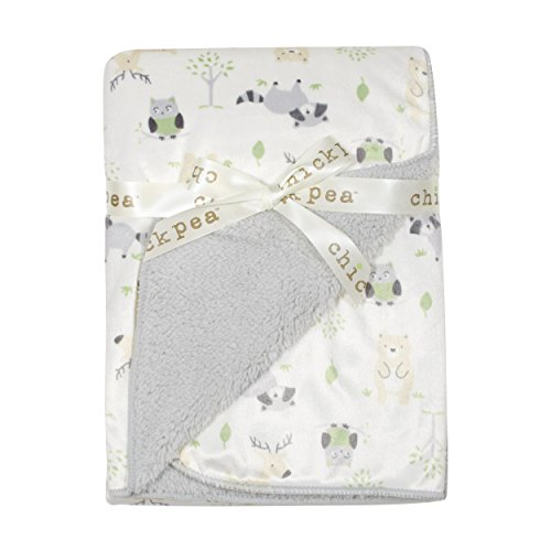 chick-pea-baby-grey-forest-soft-mink-printed-blanket-with-sherpa-backing