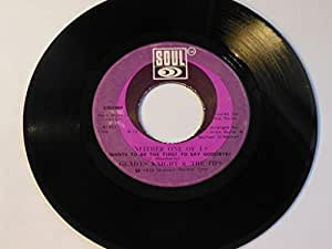 """Neither One Of Us (Wants To Be The First To Say Goodbye) / Can't Give It Up No More VINYL 7"""" 45 – Soul – S35098F"""
