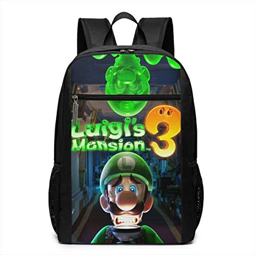 (ZoPlace Men and Women Outdoor Luigi's Mansion Fashion Trend All-Print)