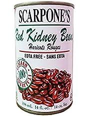 Scarpone Red Kidney Beans, 398 milliliters