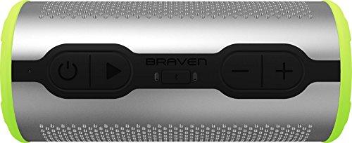 Braven Stryde 360 Sound Bluetooth - Silver/Green