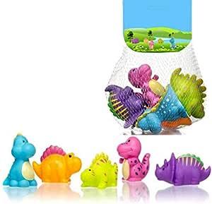 Baby bath toy suit ,dinosaur spray water toy,5pcs,LOCR020
