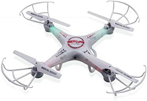 Star Ufo Drone 4 Canales 6-Ejes Gyro RC Quadcóptero Sin Cámara con ...