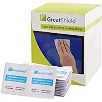 Screen Cleaning Wipes (200 Count), GreatShield Electronic...