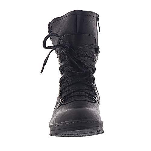 Patrizia by Spring Step Black Boots Cicely Womens 44rvxRwSq